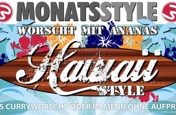Hawaii Style – Worscht mit Ananas