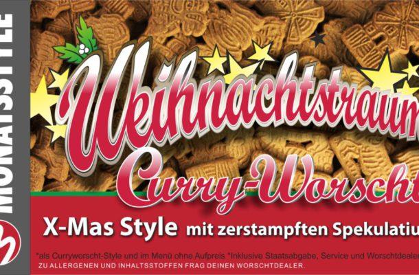Weihnachtstraum Curry-Worscht