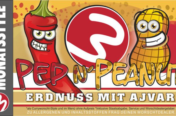 Unser Monatsstyle im Februar: Pep n' Peanut