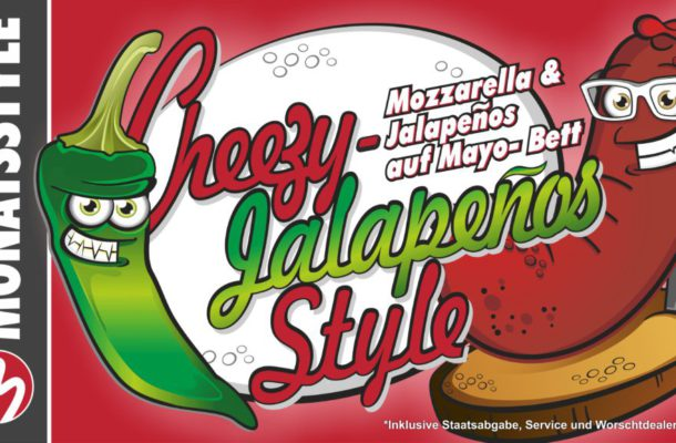 Unser Monatsstyle im August: Cheezy-Jalapeños Style