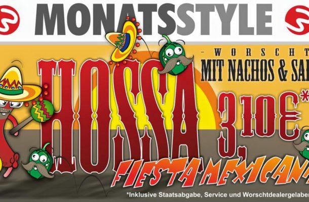HOSSA – Worscht mit Nachos
